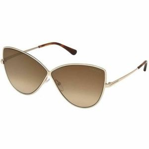 Tom Ford Sunglasses Gradient Mirrored Lens